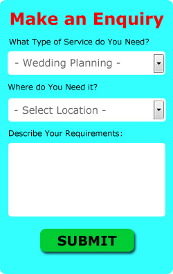 Stowmarket Wedding Planning Enquiries (IP14)